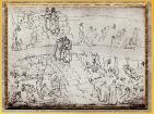 D'après Dante et Virgile, l'Enfer, les Faussaires et Semeurs de discorde, Sandro Botticelli, 1480-1495, Divine Comédie, XVe siècle, Renaissance. (Marsailly/Blogostelle)
