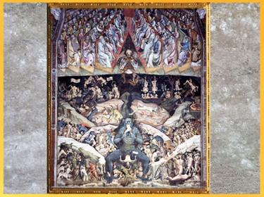 D'après L'Enfer, Giovanni da Modena (Giovanni di Pietro Faloppi), 1410, Saint Petronius, Bologne, XVe siècle. (Marsailly/Blogostelle)
