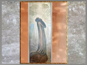 D'après... L'Extase de Dante, de Jean Delville, 1932, XXe siècle, citation. (Marsailly/Blogostelle)