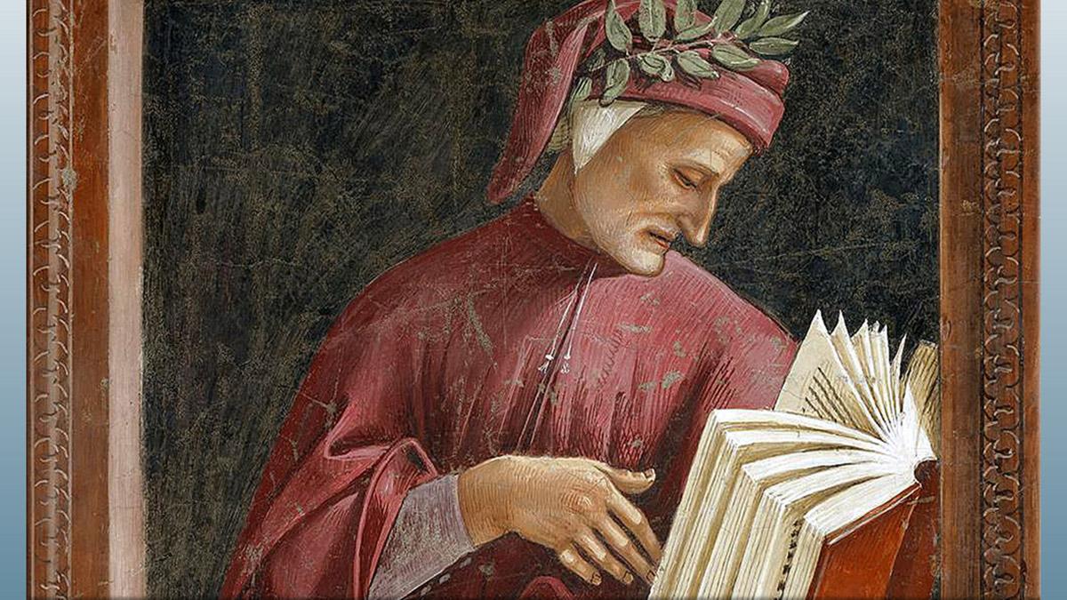 D'après Dante Alighieri le poète et la Divine Comédie, Signorelli. (Marsailly/Blogostelle)