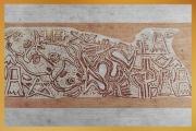 D'après une empreinte de sceau, vers 2800 avjc, première période des dynasties archaïques, cité sumérienne d'Ur, Irak actuel, Mésopotamie. (Marsailly/Blogostelle)