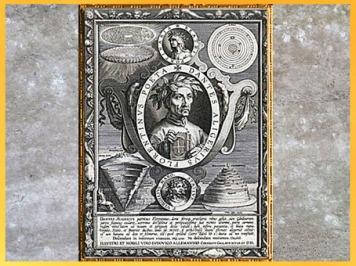 D'après Dantes Aligerius patritius Florentinus, de Jan van der Straet, 1591-1612, gravure, Anvers, début XVIIe siècle. (Marsailly/Blogostelle)