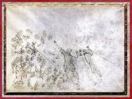 D'après le Ciel de l'Empyrée, Dante et Béatrice, Divine Comédie, Sandro Botticelli, 1480-1495, fin XVe siècle, Renaissance. (Marsailly/Blogostelle)