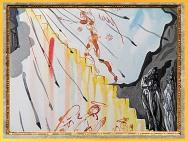 D'après... Citation. L'échelle d'Or du Paradis, La Divine Comédie, Salvador Dali, 1950, aquarelle, XXe siècle. (Marsailly/Blogostelle)