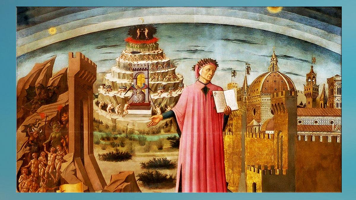D'après Dante Alighieri, La Divine Comédie. Marsailly/Blogostelle)