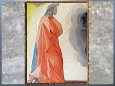 D'après Dante Alighieri, La Divine Comédie, Salvador Dali, 1950, aquarelle, XXe siècle, citation. (Marsailly/Blogostelle