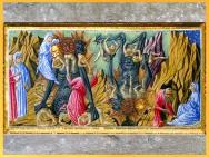 D'après l'Enfer, de Giovanni di Paolo, 1450, Divine Comédie, Toscane, XVe siècle, Renaissance. (Marsailly/Blogostelle)