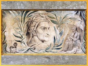 D'après Dante Alighieri, de William Blake, vers 1800-1803, aquarelle, début XIXe siècle. (Marsailly/Blogostelle)