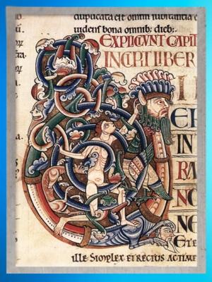 D'après une image de Job, enluminure, Bible de Santa Cruz Coimbra, Porto, XIIe siècle apjc, période médiévale. (Marsailly/Blogostelle)