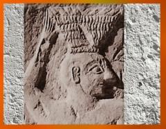D'après le roi Ur-Nanshe de Lagash et son panier, relief votif, vers 2550-2500 avjc, dynasties archaïques sumériennes, Mésopotamie. (Marsailly/Blogostelle)