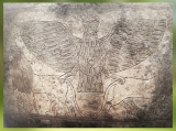 D'après le vase voué à Ningirsu par Entemena roi de Lagash, argent et cuivre, vers 2400 avjc, dynasties archaïques sumériennes,antique Girsu, Tello, Irak actuel, Mésopotamie. (Marsailly/Blogostelle)