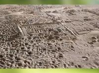D'après les vestiges d'Umma, site de Tell Jokha, cité rivale de Lagash sous le roi Eannatum, actuel Irak, Mésopotamie. (Marsailly/Blogostelle)