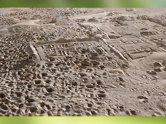 D'après les vestiges d'Umma, site de Tell Jokha, cité rivale de Lagash sous le roi Eannatum, actuel Irak, époque des dynasties archaïques sumériennes, Mésopotamie. (Marsailly/Blogostelle)