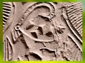 D'après un capridé à longues cornes (ibex), empreinte de sceau, vers 3100-2900 avjc, période néolithique, Mésopotamie. (Marsailly/Blogostelle)