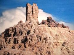 D'après la ziggurat de Nimrud, antique Borsippa, vers 2112-2004, IIIe dynastie d'Ur, Irak. (Marsailly/Blogostelle)