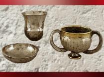 D'après un vase, électrum et argent, vers 2300–2000 avjc, Anatolie., Anatolie, actuelle Turquie, Orient ancien. (Marsailly/Blogostelle)