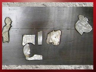 D'après les éléments d'un char, Étendard de Mari, détail, temple d'Ishtar, vers 2500-2300 avjc, Mari, Tell Hariri, actuelle Syrie, Orient ancien. (Marsailly/Blogostelle)