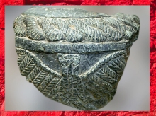 D'après un vase en pierre, chlorite, l'aigle léontocéphale de Ningirsu, Im-dugud, vers 2500 2400, temple d'Ishtar, Mari, Tell Hariri, actuelle Syrie. (Marsailly/Blogostelle)