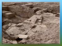 D'après les vestiges de Mari, canalisations, IIIe millénaire avjc, Tell Hariri, actuelle Syrie. (Marsailly/Blogostelle)