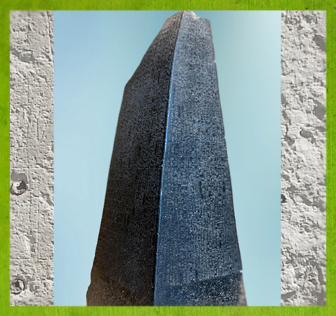 D'après la stèle dite obélisque du roi Manishtusud'Akkad, diorite, vers 2270 avjc, Agadé, butin de Suse, Mésopotamie. (Marsailly/Blogostelle)