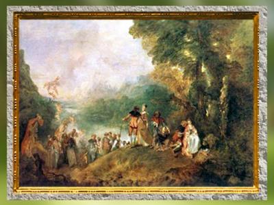 Portfolio, Histoire de l'Art, Le XVIIIe siècle, art Rocaille et Néoclassique. (Marsailly/Blogostelle)