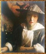 D'après La Jeune Femme à la Flûte, Johannes Vermeer, 1665-1670. (Marsailly/Blogostelle)