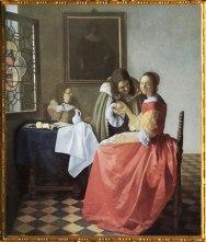 D'après La Jeune Fille au Verre de Vin, Johannes Vermeer, 1659-1660 apjc, IVM. (Marsailly/Blogostelle)