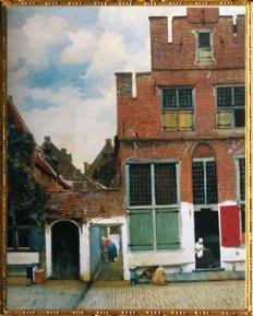 D'après La Ruelle, Johannes Vermeer, 1657-1658, IVMeer. (Marsailly/Blogostelle)