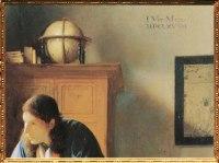 D'après Le Géographe, détail signature IVMeer, Johannes Vermeer, 1668-1669. (Marsailly/Blogostelle)