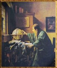 D'après L'Astronome Johannes Vermeer, 1668, signé IVMeer. (Marsailly/Blogostelle)