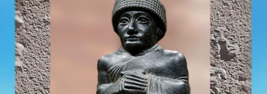 D'après la grandeur de Gudea, vers 2100 avjc, époque néo-sumérienne. (Marsailly/Blogostelle)