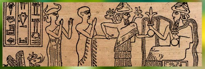 Mésopotamie : Ningishzida, dieu personnel du souverain sumérienGudea