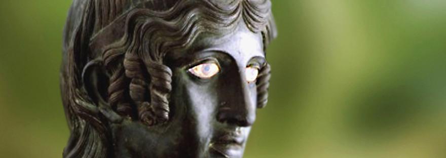 D'après le regard d'une Danaïde, bronze, Herculanum. (Marsailly/Blogostelle)