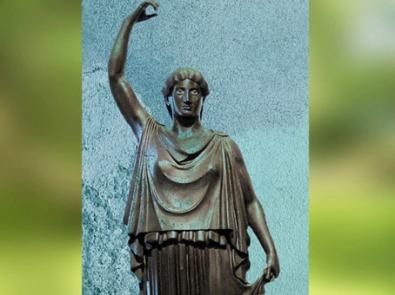 D'après les Danaïdes, statues en bronze, Villa des Papyrus, Herculanum, Ier siècle apjc (avant 79, Vésuve ), Naples, Art Romain. (Marsailly/Blogostelle)