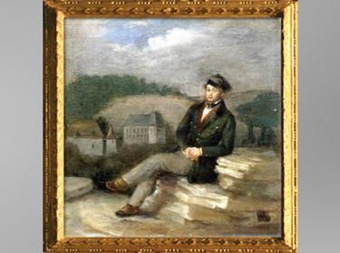 D'après Prosper Mérimée en tenue d'Inspecteur des Monuments historiques, de Marc Paumier, 1837, huile sur toile, XIXe siècle. (Marsailly/Blogostelle)