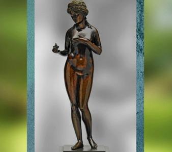 D'après Vénus et la Pomme d'or, Pier Jacopo di Antonio Alari-Bonacolsi dit Antico, bronze , 1460–1528, Mantoue Italie. (Marsailly/Blogostelle)