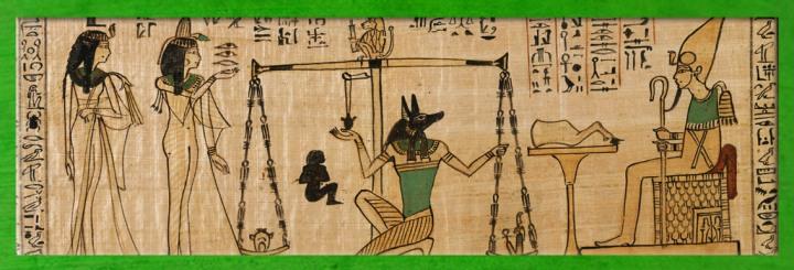 L'Art de l'Égypte ancienne, les artistes illustrent des universmythiques