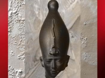 D'après le dieu Osiris, portrait du souverain de l'au-delà, vers 595-525 avjc, Basse Époque, Égypte ancienne. (Marsailly/Blogostelle)