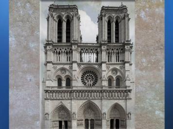 D'après la cathédrale Notre Dame de Paris, 1163 apjc-début XIVe siècle, art gothique. (Marsailly/Blogostelle)