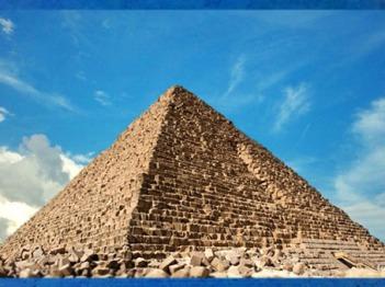 D'après la pyramide de Khéops, plateau de Gizeh, vers 2930-2750 avjc, IVe dynastie, Ancien Empire, Saqqara, Égypte Ancienne. (Marsailly/Blogostelle)