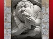 D'après les sculptures, Notre Dame de Paris, 1163 apjc-début XIVe siècle, art gothique. (Marsailly/Blogostelle