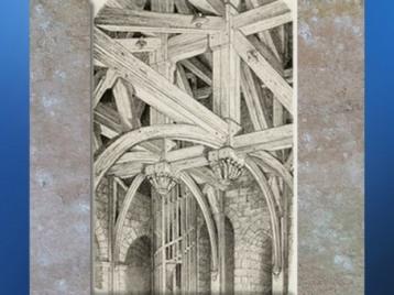 D'après un dessin, Viollet-le-duc, Dictionnaire raisonné de l'architecture française du XIe au XVIe siècle,1854-1868 apjc. (Marsailly/Blogostelle)
