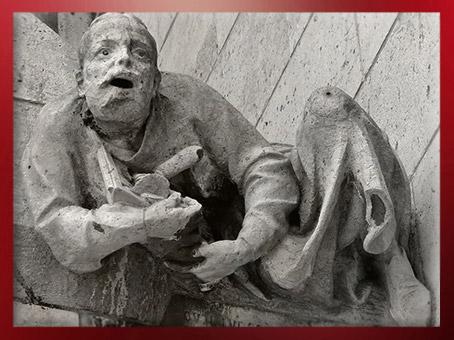 D'après les sculptures de Notre Dame de Paris, 1163 apjc-début XIVe siècle, art gothique. (Marsailly/Blogostelle)