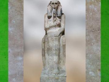 D'après Djoser, le corps moulé dans son habit, statue calcaire, vers 2980 – 2930 avjc, IIIe dynastie, Ancien Empire, Saqqara,Égypte Ancienne. (Marsailly/Blogostelle)