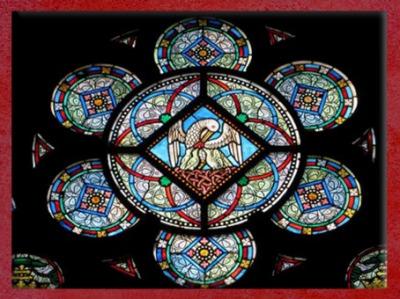 D'après le pélican, symbole du Christ, Notre Dame de Paris, 1865 apjc, Alfred Gérante, époque restauration de Viollet-le-Duc. (Marsailly/Blogostelle)