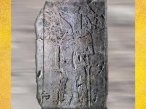 D'après le Roi Qahedjet et Horus, détail, calcaire, vers 2700-2620 avjc, Ancien Empire, Égypte Ancienne. (Marsailly/Blogostelle)