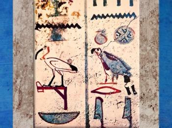 D'après des hiéroglyphes animaux, tombe de Thanouny, Thèbes, Nouvel Empire, Égypte Ancienne. (Marsailly/Blogostelle)