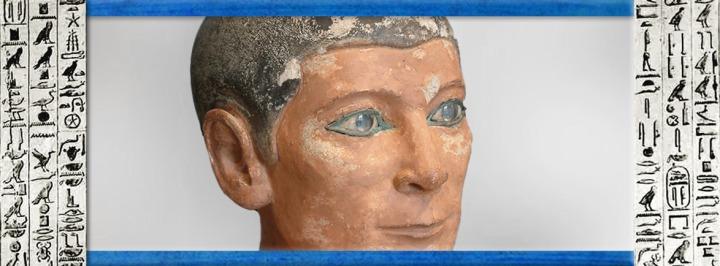 L'Art de l'Égypte ancienne, les images et les hiéroglyphes perpétuent l'essence del'éternel