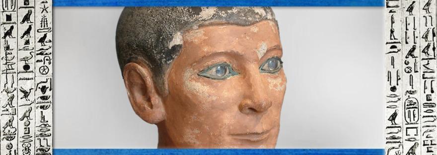 D'après le scribe acroupi, ouverture, Egypte Ancienne. (Marsailly/Blogostelle)