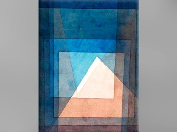 Une image citation, Paul Klee, Pyramide, 1930, XXe siècle. (Marsailly/Blogostelle)